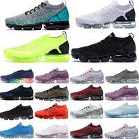 حار 2018 2019 chaussures moc 2 laceless 2.0 الاحذية الثلاثي الأسود رجل المرأة أحذية رياضية وسادة المدربين zapatos
