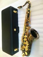 Yanagisawa جديد تينور ساكسفون جودة عالية ساكس ب شقة تينور ساكسفون اللعب باحترافية فقرة الموسيقى ساكسفون الأسود هدية