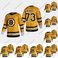73 Charlie McAvoy 2020-21 Retro Retro Hockey Jersey Boston Bruins Jaroslav Halak Sean Kuraly David Pastrnak Ray Bourque Bobby Orr Marchand
