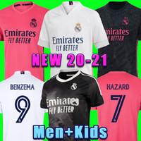 레알 마드리드 유니폼 20 21 위험 Sergio Ramos 축구 유니폼 벤즈마 Vinicius Camiseta 축구 유니폼 셔츠 유니폼 남자 키트 2020 2021