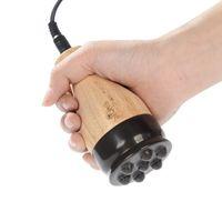 Elektrik doğa taş makinesi vücut geri Çin masaj doğal bian taş gua sha ev spa zayıflama sağlık araçları
