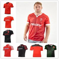 2021 Rugby World Cup Jersey Wales Rugby Jersey Walisisches Polo T-shirt Rugby League Jersey Shirt Rote Männer Hemden Heißer Verkauf Sport 2020