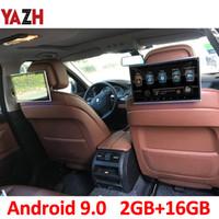 11,6-дюймовый Android 9.0 Монитор для подголовника автомобиля 1920 * 1080 HD автомобильный DVD дисплей AUX FM передатчик Bluetooth с помощью HDMI входа USB SD-карта 4K видео