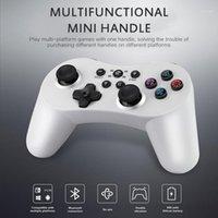 Game Controller Joysticks 5 in 1 Controller Bluetooth wireless Gamepad Dual Motore Vibrazione 400mA Batteria per Switch Pro PS3 PC PC360 Pub
