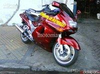 Kundenspezifische Verkleidung Kit für Kawasaki ZZR1100 93 94 97 98 99 00 01 ZX11 1993 2001 ZZR1100D Heiße rote Verkleidung Körperarbeit + 7gifte ZU45