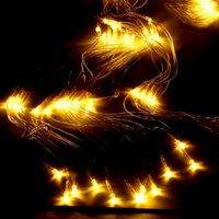 210 LED Fada Net Light Decor Festa de Natal Wedding malha cortina da corda Branco Quente LED Cordas