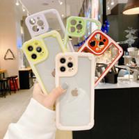 Candy Dual Color военные анти-шокирующие чехол для телефона для iPhone 12 Mini 11 Pro Max 6 7 8 плюс XR XS X