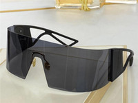 Gafas de sol de Kalei Scopic Popular con Protección UV para hombres Mujeres Vintage Retiro de una pieza Lente Sin marco Moda Moda Top Calidad Ven con estuche