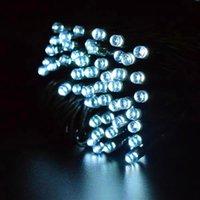 速い配達の真新しい白い100人のLEDの太陽の文字列妖精のライトクリスマスパーティーの防水休日の照明文字列高品質の素材