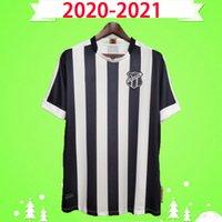 2020 2021 Ceara SC Soccer Jerseys Sobis Carvalho Goncalves Jacare Cleber Oliveira Fabinho va Lima Sporting 20 21 Home Shirt de football noir