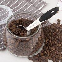 Cuchara de medición de metal de 30 ml Cola de café multifunción de acero inoxidable de acero inoxidable Mango largo de leche en polvo DDD3878