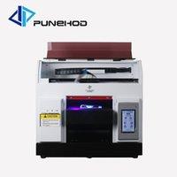 Photo Teléfono Cubierta de la cubierta A4 Impresora digital Máquina de impresión UV con 5 * 100 ml Tinta gratis y Tray Cilindro1