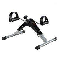 Mini Pedal Stearch Упражнение ЖК-дисплей Крытый Велосипедный Велосипед Степперский Устройство Устройство беговой дорожки для домашнего офиса Gym1