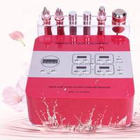 Mikroströmungsgesichtsaufzug Maschine Elektroporation RF Gesichtsmaschine 6 in 1 Augenfalten Entfernen von Gesicht Hautverzug
