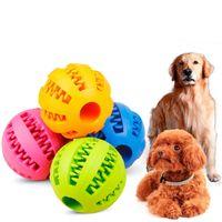 المطاط مضغ الكرة الكلب اللعب التدريب فرشاة الأسنان يمضغ الطعام الحيوانات الأليفة مولار لعبة الكرات WY1448