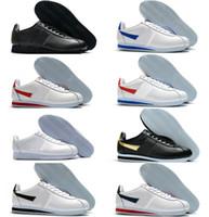 2021 Classic Cortez Nylon RM الاحذية الوردي أسود أحمر أبيض أزرق خفيف الوزن تشغيل رخيصة chaussures كورتيز جلد BT سنيكرز TN حذاء