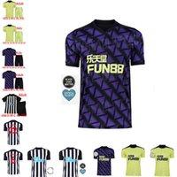 새로운 20 21 NUFC 축구 유니폼 Shelvey 2020 2021 Joelinton 축구 셔츠 Almiron Ritchie Gayle 장비 남성 키트 키트