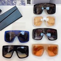 2021SS Primavera Designer Designer Sunglasses Power 2 Donna Oversize Viso Copertura da sole Occhiali da sole Beach Vacanze UV400 Occhiali da sole con caso