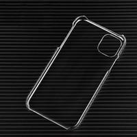 Per iPhone 11 12 Mini Pro Max Ultra sottile Slim PC trasparente PC Custodia rigida in cristallo Custodia in plastica per il cellulare Samsung S20
