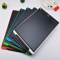 12 인치 LCD 작성 태블릿 드로잉 보드 칠판 필기 패드 아이를위한 선물 종이없는 메모장 태블릿 메모 업그레이드 된 펜