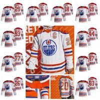 Wayne Gretzky Edmonton Oilers 2021 عكس ريترو جيرسي ليون درايسيتل كونور ماديلور ريان نوجنت هوبكينز زاك كاسيان إيثان بير جيمس نيل