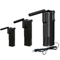 Pompe à eau de filtre d'aquarium interne avec filtration de la barre de pulvérisation durable pour le réservoir de poisson DC120 Y200922