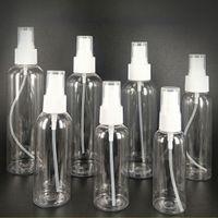 Небольшой прозрачный пластиковый пустой распылительные бутылки 10 мл / 30 мл / 50 мл / 60 мл / 100 мл. Бутылка путешествия для путешествий DHL