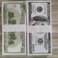 Alt Pretend 02 großhandel 100 teile / paket prop papiergeld papier für banknote kopieren geld dollar geldscheine kollektion 100 fake ovrho