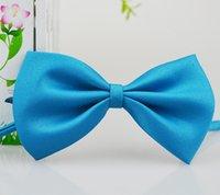 나비 넥타이 19 색 아기 bowknot 어린이 애완 동물 소년을위한 opp 가방을 가진 애완 동물 넥타이 크리스마스 선물 무료 FedEx TNT