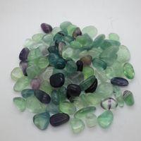 naturalny kamień15 ~ 25mm turkusowy agat kryształ ametystowy spadł nieregularny kamień w etui do uzdrowienia Reiki Wishing Lucky Stones