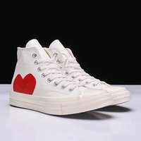 2021 Più Nuovo anni '70 Canvas Shoes Athletic Shoes Classic Campus Joker Scarpe Canvas Nome congiunta CDG Play Big Eyes Casual Training Sneakers Gomma