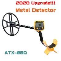 2020 NOUVEAU Détecteur de métal Détecteur d'or souterrain Détecteur d'or imperméable PinPointer Trésor Trésor Hunting Atex avec écran LCD 9V Power1