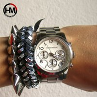 Hannah Martin Üst Marka Lüks kadın Saatler Moda Altın Bayanlar İzle Kadınlar Saatler Saat Relogio Feminino Reloj Mujer T200519