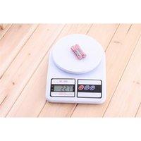 5kg / 1g 1kg / 0.1g 10kg / 1g 휴대용 디지털 스케일 우편 음식 측정 무게 주방 LED 전자 저울 201212