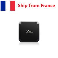(Expédié de France) X96 Mini S905W Puce Android 7.1 TV Boîte TV Amlogic S905W Quad Core Suppot H.265 4K 30TPS Média Playe