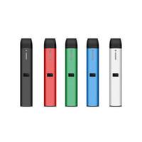 정통 vape 펜 dcpod vape vape kit 210mah 충전식 사각형 세라믹 코일 DAB 펜은 예열 잠금 장치가있는 두꺼운 오일 CO2 용