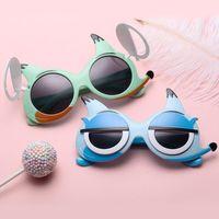 Zenottic Historieta Little Niños Gafas de sol Lindo Polarizado UV400 Lens Boys Girls Flip Sun Visor Gafas de sol Trashes Gafas