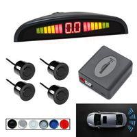 Vue arrière de la voiture Caméras Senseurs de stationnement 12V Capteur Kit de sauvegarde inverse Buzzer Radar Sound-Sound Alerte Indicateur Système Système Bip Alarm