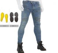 Vestuário de motocicleta 2021 718 Calças Homens Moto Jeans Protetora Engrenagem Equitação Touring Motorbike Calças Motocross Com Hip Pr1