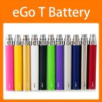 EGO T USB Şarj Cihazı Ile Elektronik Sigara Piller Kabloları 650mAh 900mAh 1100mAh 510 Diş Açma Vape Kalem