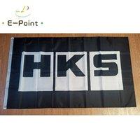 Japon hks drapeau noir 3 * 5ft (90cm * 150cm) drapeau polyester bannière décoration volant maison jardin drapeau cadeaux festives