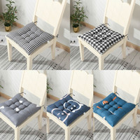 Almofada de assento na cadeira de algodão chão de almofada de almofada assento sedentário almofada de inverno bloco de inverno almofadas macio botão de bumbum home decor