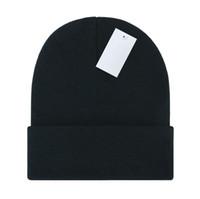 Gros bonnets unisexes tricoter hot automne hiver hommes d'extérieur hommes chapeaux chapeaux hip-hop badge badge crullies humide homme sport gorros femmes chapeaux tricoter