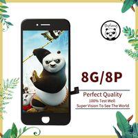 Yüksek Parlaklık Kaliteli LCD Ekran iphone 8 8 artı LCD Ekran Dokunmatik Cam Ekran 3D Sayısallaştırıcı Tam Montaj Tamir Parçaları Değiştirme