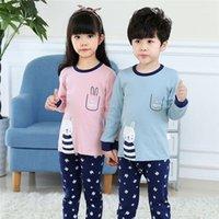 Otoño Invierno niños Pijamas Sets Baby Girl Ropa Ropa Boys Pijamas Girls Pijamas Baby Sleepwear Camiseta de manga larga para niños + Pantalones1