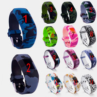Colorful Wristband Silicone No Buckle Watch Band Strap Watch...