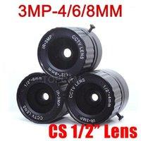 "Lente CCTV da 3MP HD 4mm 6mm 8mm CS Lens 3MP per telecamere HD Telecamere IP Telecamera IP F2.0 Formato immagine 1/2 ""1"