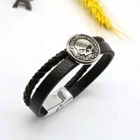 10 cor punk moda homem homem mulher antiga prata ilimitado amor harley motocicleta charme motocross corrida de couro preto camurça bracelete presente