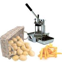 Procesadores de Alimentos Máquina Fries Máquina Trituradora Papa Francesa Shredderpotato Rebanada Cebolla CucumberCarrot Slicer