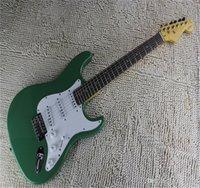 Prezzo di fabbrica all'ingrosso Body Artist Body Artista SSS SSS Stratocaster Green Electric Guitar